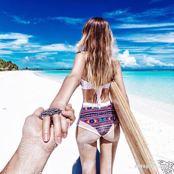 Follow Me To 馬爾地夫浪漫蜜月照