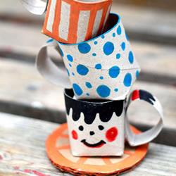 自制扮家家茶具 与宝贝度过欢乐时光!