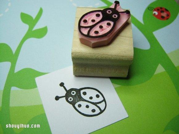 40款橡皮图章手工DIY教程 总有一款适合你! -  www.shouyihuo.com