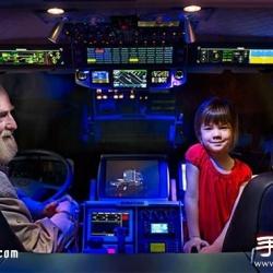 旧卡车DIY超级房车携女儿环游世界
