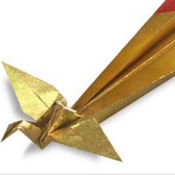 凤凰的折法图解 手工折纸凤凰的方法教程