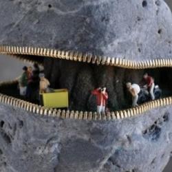 创意鹅卵石雕刻DIY
