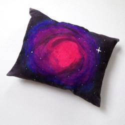 利用简单印染工艺,DIY制作银河星云抱枕