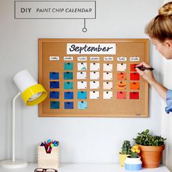 超简单自制日历的方法 需准备便签纸和相框
