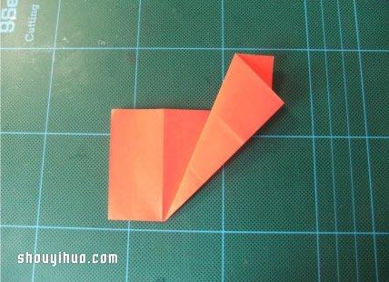好玩的剪纸爱心的方法图解 -  www.shouyihuo.com