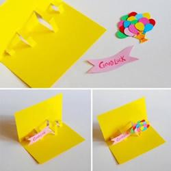 祝福贺卡的制作方法 剪纸制作漂亮的祝福贺卡