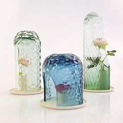 散发朦胧文艺美感 OP-vase手工玻璃花罩