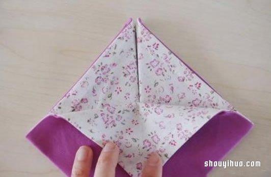 简单家居布艺DIY:不织布收纳盒手工制作图解 -  www.shouyihuo.com