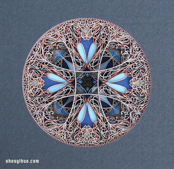 饶富异域风情的的精美纸雕作品欣赏 -  www.shouyihuo.com