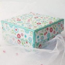月饼盒手工制作带展开图 月饼包装盒的折