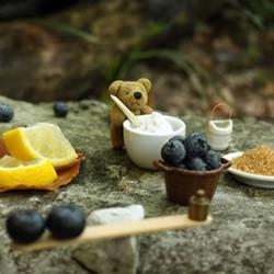 呆萌小熊教你学做手工蓝莓果酱,好治愈!