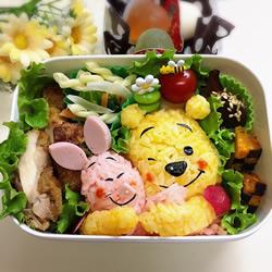 日本妈妈给孩子们DIY的爱心便当盒 满满都是幸福