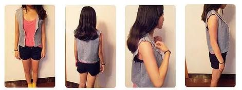 舊牛仔褲改造DIY 製作酷炫牛仔開衫的方法