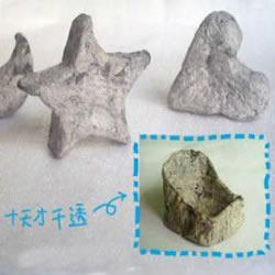旧报纸变废为宝 DIY制作石雕般的小手工艺品