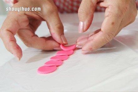 超輕粘土製作玫瑰花的方法步驟圖解教程