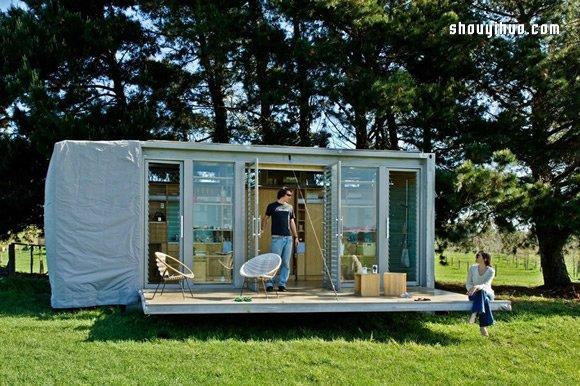 改變你對貨櫃箱的想法 可容四口之家的貨櫃屋
