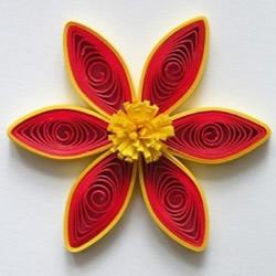 精美衍纸花教程 手工制作衍纸花的方法图