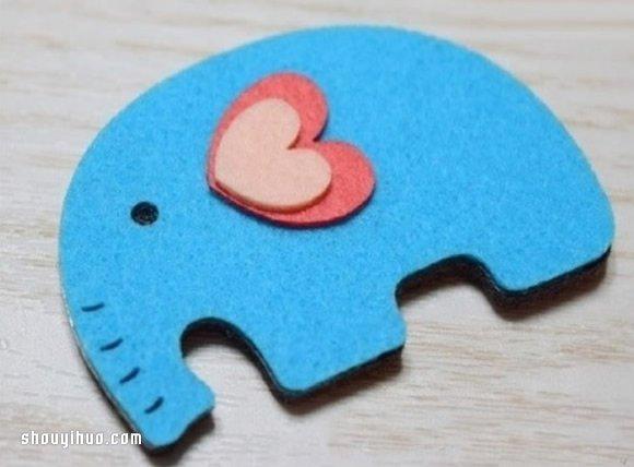 可愛兒童發卡頭飾DIY 布藝兒童發卡製作教程