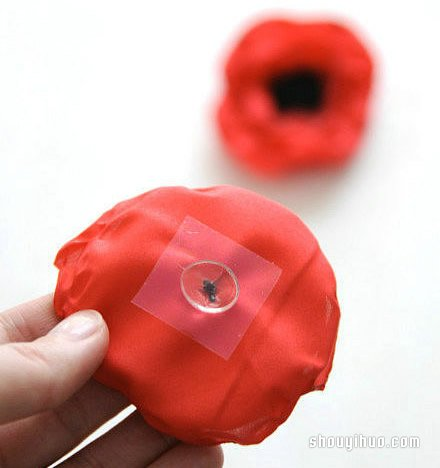 禮盒花製作方法圖解 手工布藝禮盒花朵DIY教程