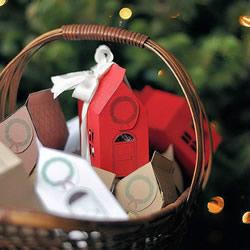 圣诞礼品盒制作方法 春节礼物盒制作图解