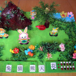 幼儿教师自制玩教具:动态识字平台作品欣赏