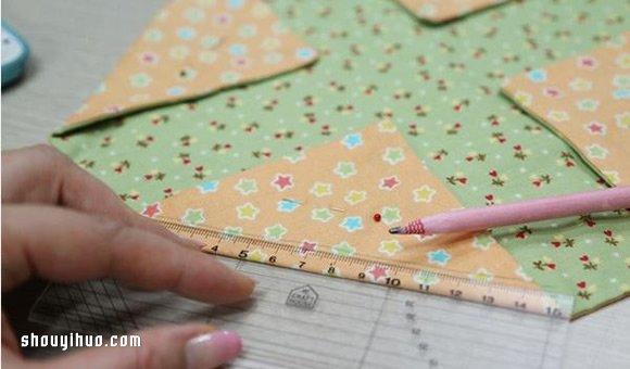 櫻花包製作方法圖解 手工布藝櫻花包做法教程