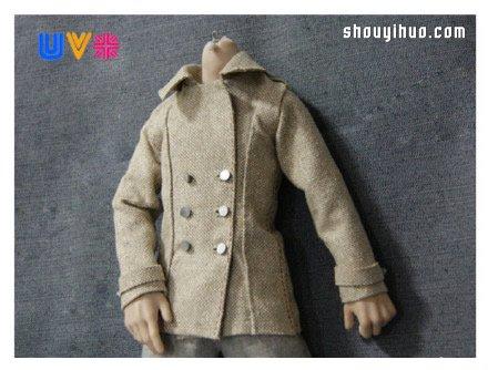 男士風衣的製作方法 自己製作男風衣圖解教程