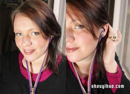 耳機收納袋的製作方法 自製耳機保護袋的教程