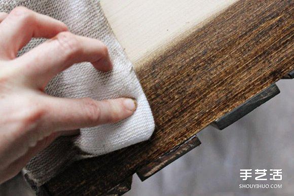 自制板条箱收纳柜 收纳柜的制作方法图解教程 -www.shouyihuo.com