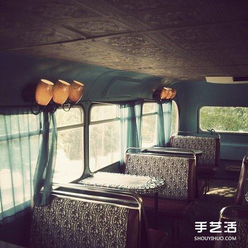 廢舊巴士/貨車改造成商店 外觀上就充滿吸引力