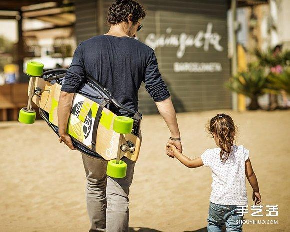 Longboardstroller 滑版兒童推車設計