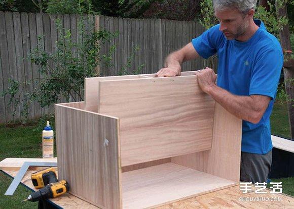 木工教程:自己動手做一個移動廚房的方法
