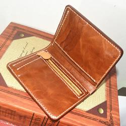 皮质钱包DIY制作图解 手工真皮钱包制作教程
