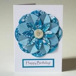 立体生日贺卡制作步骤 立体生日卡片制作