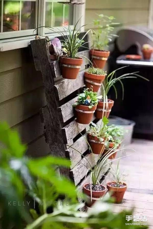 Diy - Comment disposer des pots sur une terrasse ...