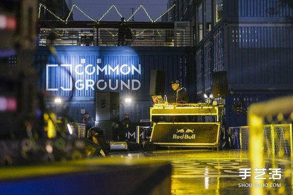 铁皮货柜集装箱堆叠改造的高级商场 -  www.shouyihuo.com