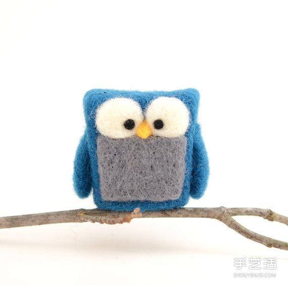 漂亮的羊毛氈小玩意 呈現這世界美好的一面