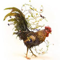 Ellen Jewett 用陶瓷捕捉野生动物的优雅灵性