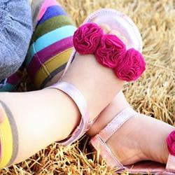 不要的破旧包包改造 DIY制作宝宝漂亮鞋子