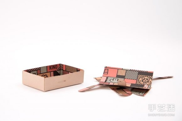 创意折纸餐盒DIY 变形前它居然是装饰画 -www.shouyihuo.com