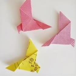 简单鸽子的折法图解 手工折纸信鸽的方法