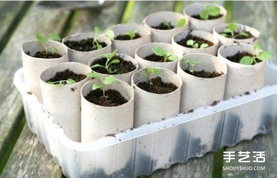适合小孩子的卫生纸卷筒废物利用小制作 -  www.shouyihuo.com