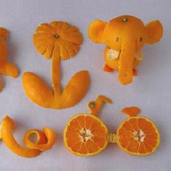 橘子的创意吃法 吃橘子的时候再也不无聊
