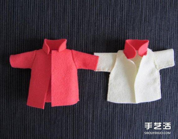 迷你玩偶服製作教程 玩偶服裝手工製作圖解