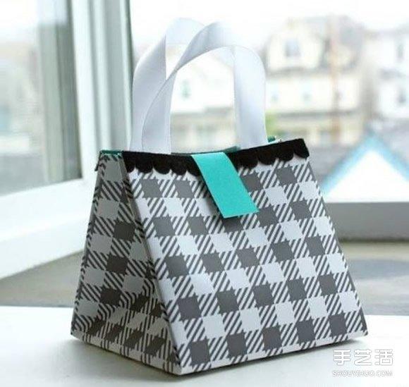 装修步骤_手提袋礼品袋制作方法 手工礼品袋的折法图解_手艺活网
