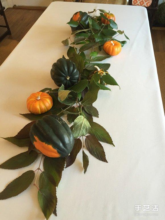 讓餐桌漂亮迎客 只用超市材料布置餐桌的方法