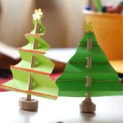 圣诞树DIY手工制作教程 儿童圣诞树制作方