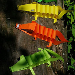 A4纸制作鳄鱼的方法 儿童玩具鳄鱼用A4纸