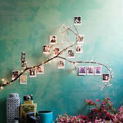 用充满回忆的相片DIY布置属于你的温馨空