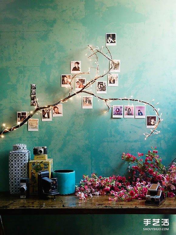 用充满回忆的相片DIY布置属于你的温馨空间 -  www.shouyihuo.com